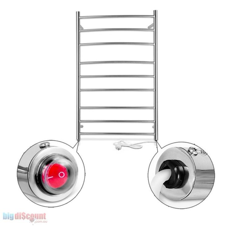 Hate cold Towel? Then use the Electric Heated Towel Rail and cuddle warm towel. Buy now !!! http://www.bigdiscount.com.au/electric-heated-towel-rail.html #bigdiscount #Towelrail