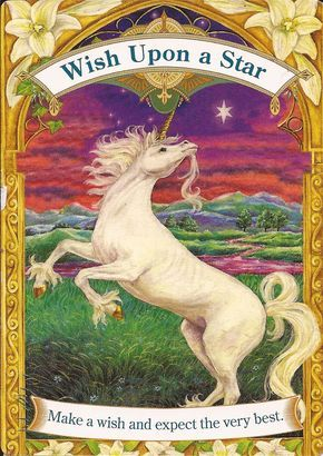 Good Morning Everyone ~ Card of the Day comes from Doreen Virtue's Magical Unicorns ~ Wish Upon A Star ~ What a lovely card to start the week with! Positivity is a wonderful thing. We can make our lives a lot happier by seeing the good in our lives instead of the negative. Try not to focus on what is not going right, try not to think about all the unhappiness that you cannot change, such as other people. Don't let their opinions put you down, don't be dragged into others ...