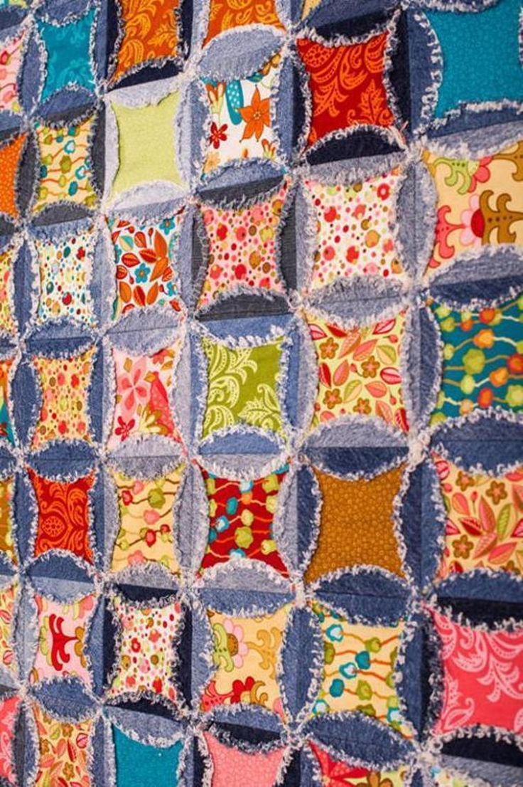 1000 Images About Rag Quilts On Pinterest Baby Quilts