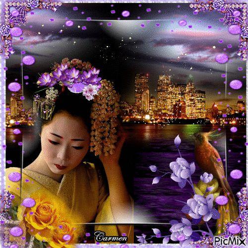 Ritratto donna giapponese