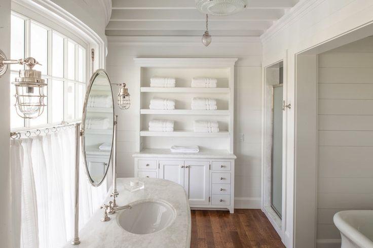 White cottage style bath bathing beauties pinterest - White cottage style bathroom vanities ...