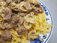 Beef Stroganoff | Aroma Rice Cooker recipe