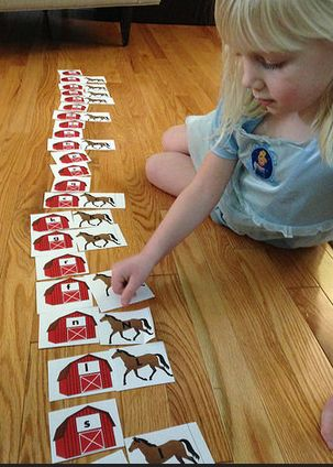 Preschool activities: horse theme (math, literacy, history, science, music, fine motor, geography, cooking)