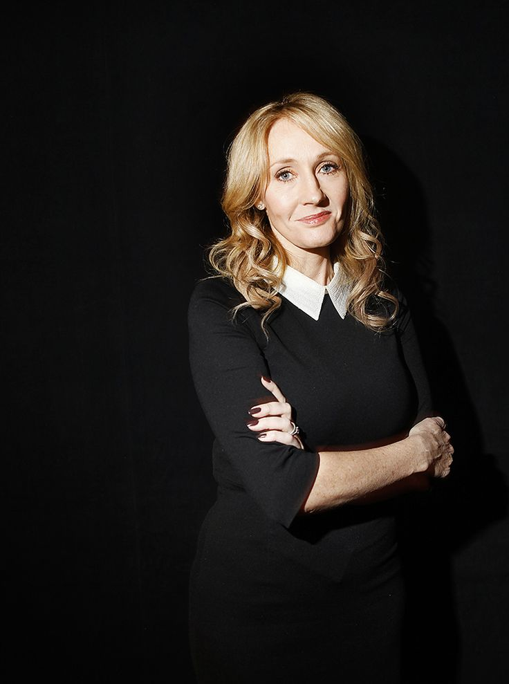 J.K. Rowling: Portrait of a 'Harry Potter' addict - THE WASHINGTON POST #J.K.Rowling, #HarryPotter