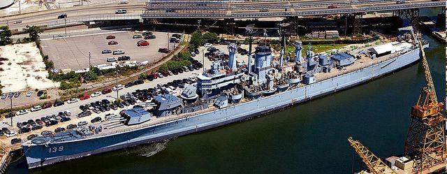 USS Salem (CA 139) taken in Quincy, MA, July 2009.  :)   Z