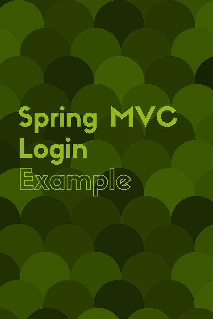 Spring MVC Login