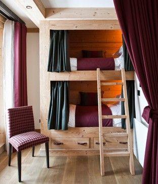 Award Winning Alpine Chalet - rustic - Bedroom - South West - Inspired Design Ltd