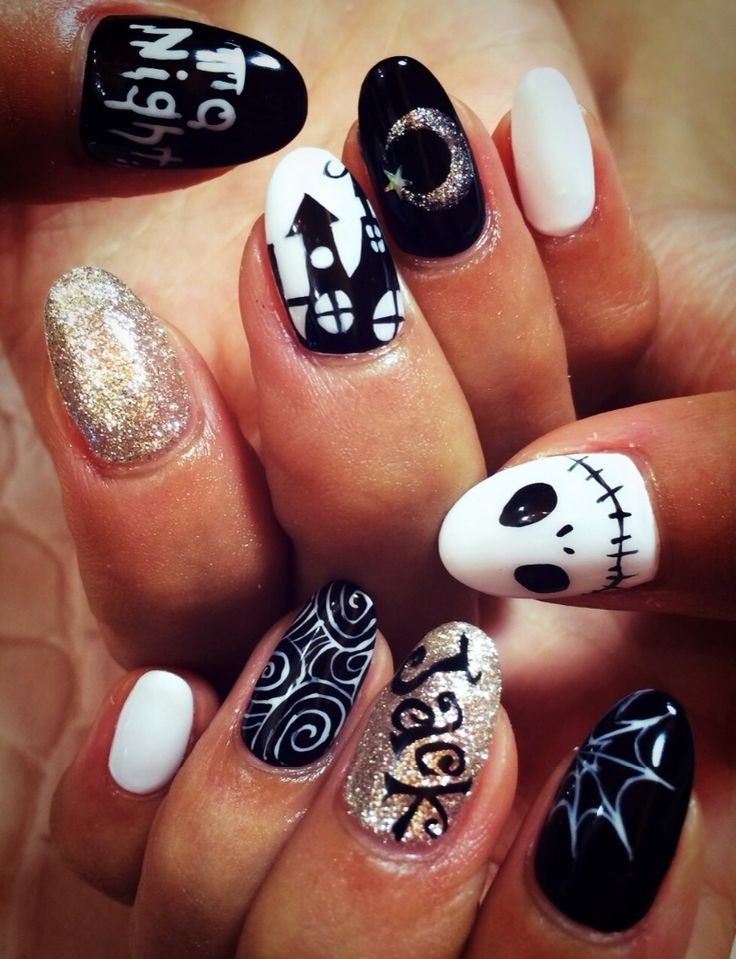 #nail#night mare#disney