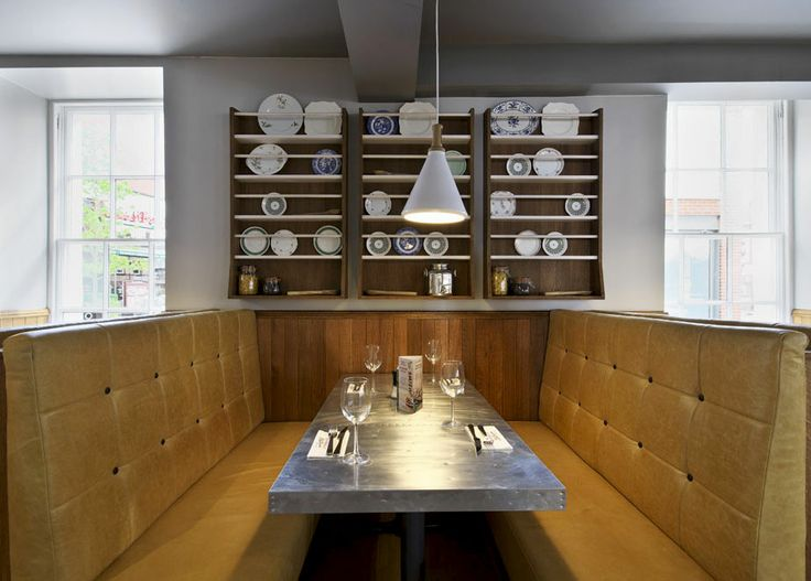 Cosy booth seating | Zizzi Hereford, 2014