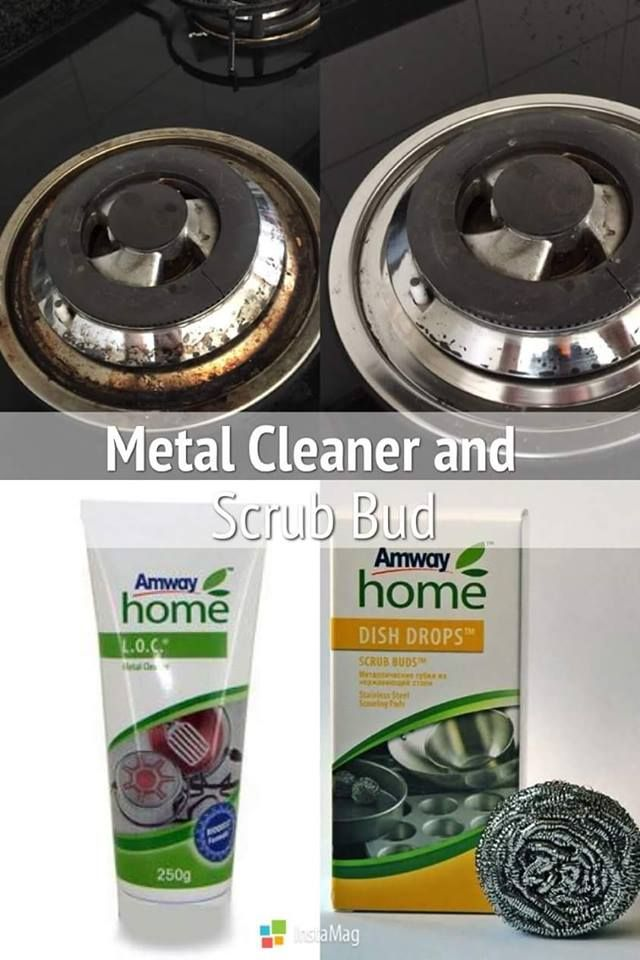 Metal Cleaner & Scrub Bud