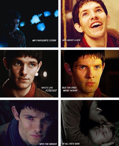 Merlin (with a Doctor Who quote!!)
