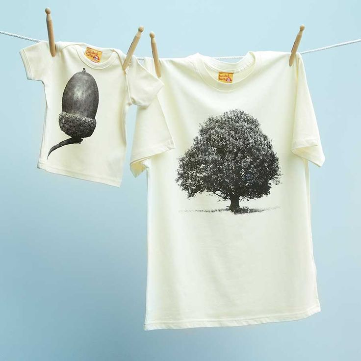 Some cute matching shirts for parent/kid
