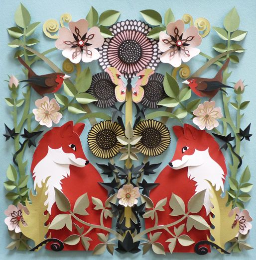 Juxtapoz Magazine - Paper Sculptures by Helen Musselwhite