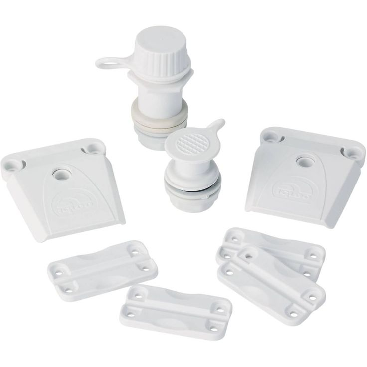 Igloo Kit for Ice Chests Cooler Repair Parts Latches Hinges Drain Plug #20108 #Igloo