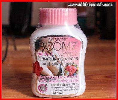 Secret Boomz Asli besarkan payudara