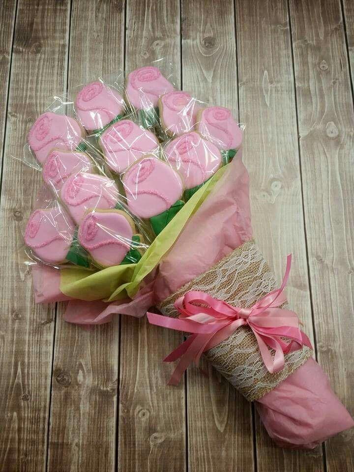 Erin Brankowitz:  a dozen Roses for Valentine's day.