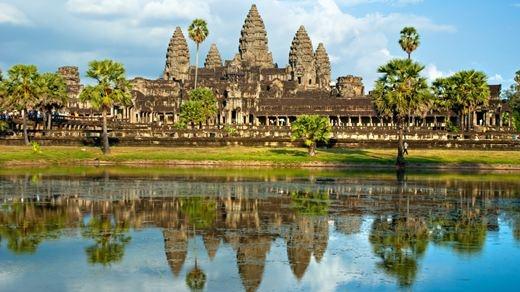 De berømte templene ved Angkor Wat, Kambodsja