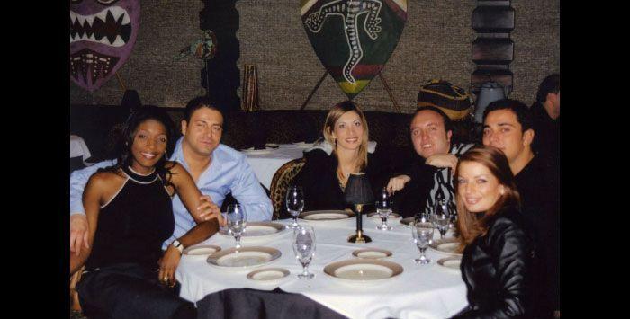 Frank Cali with Sicilian Mafiosi Nicolo Mandala and Gianni Nicchi