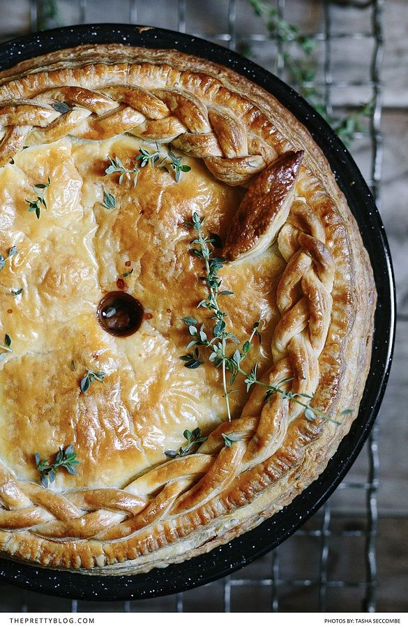 Beef and Stout Pie - The perfect comfort meal for a weekend cabin getaway!