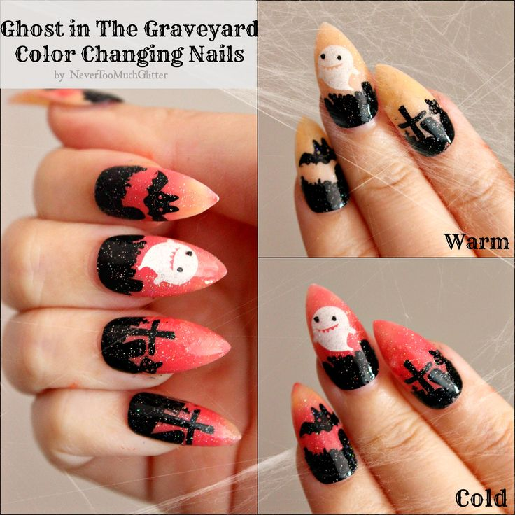 56 best Gothic Nail Art images on Pinterest | Halloween nail art ...