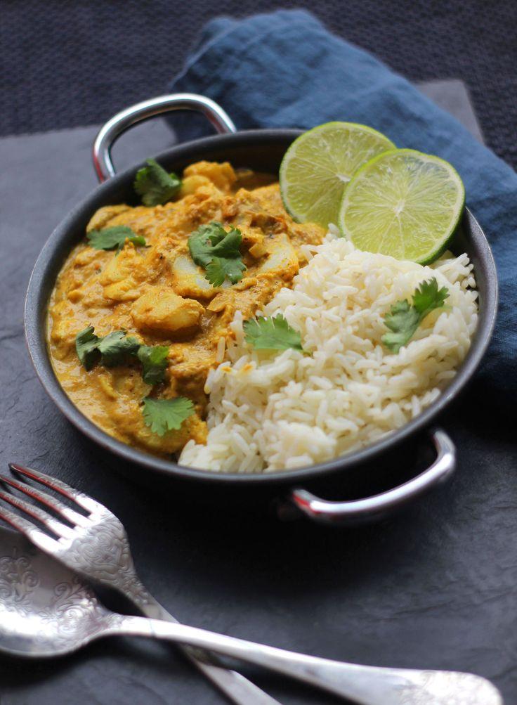 Curry de cabillaud au coco