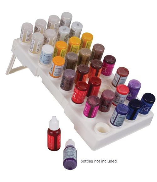 Art Bin - Bottle Storage Tray - White at Scrapbook.com