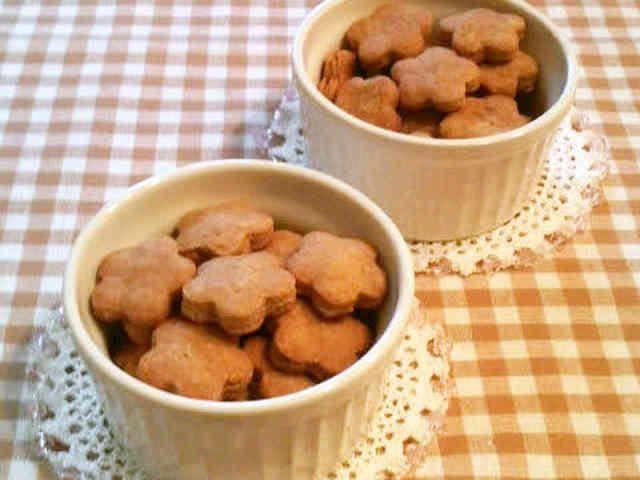 ザクザク♪素朴なきな粉クッキーの画像