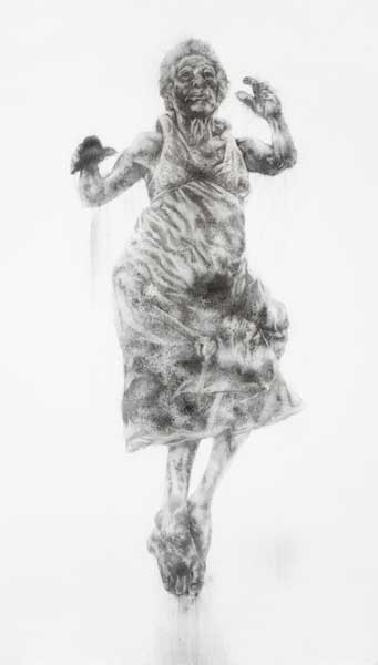 Diane Victor, smoke drawing