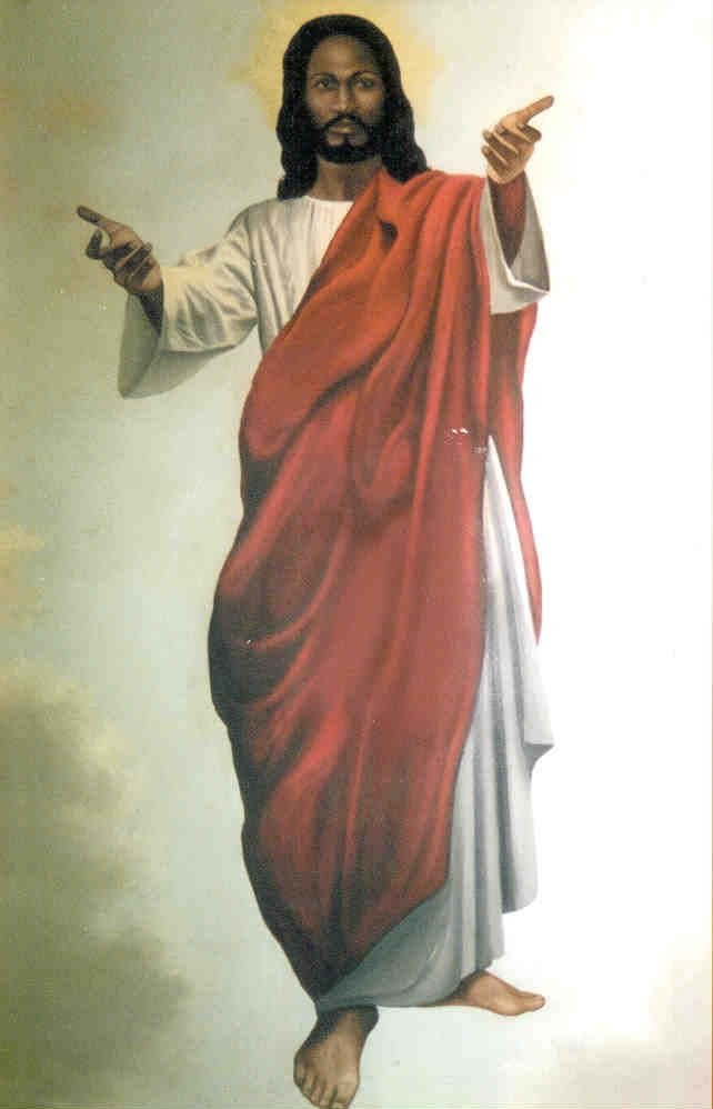 This painting of Jesus is older than the image of the black Jesus Christ in the Church of Rome which is from the 6th century. Description from pinterest.com. I searched for this on bing.com/images