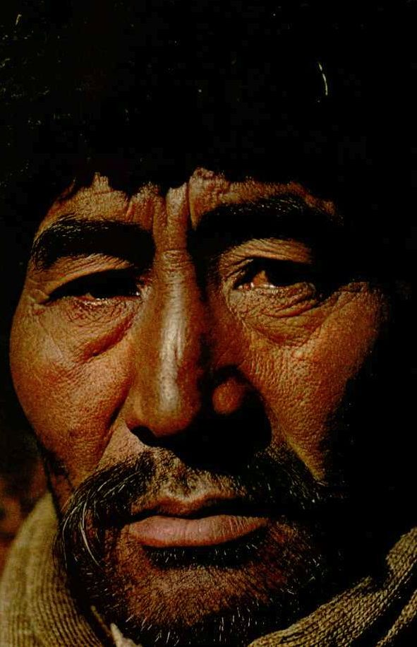 Kirghiz herdsman, descendant of Genghis Khan nomads National Geographic | April 1972