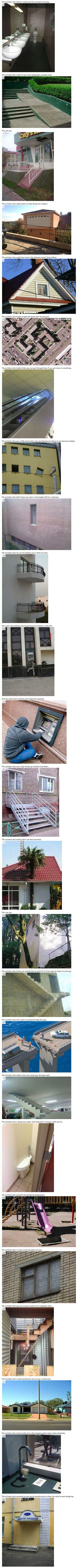 We have rounded up some bizarre construction FAILS that will leave you puzzled.