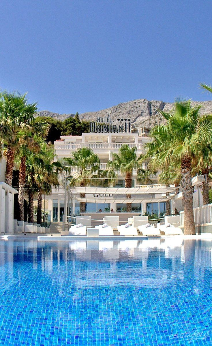 warm and sunny Croatia: Hotel Damianii. Duce, Croatia - Split-Dalmatia
