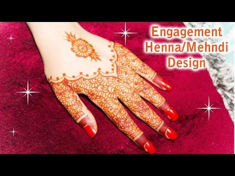 (11) How to Apply Decorative Floral Henna Mehndi Design for weddings - YouTube