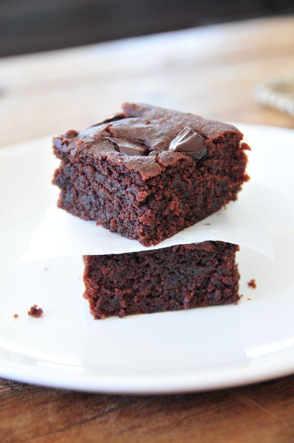 Brownies vegan, fructosearm & supersaftig