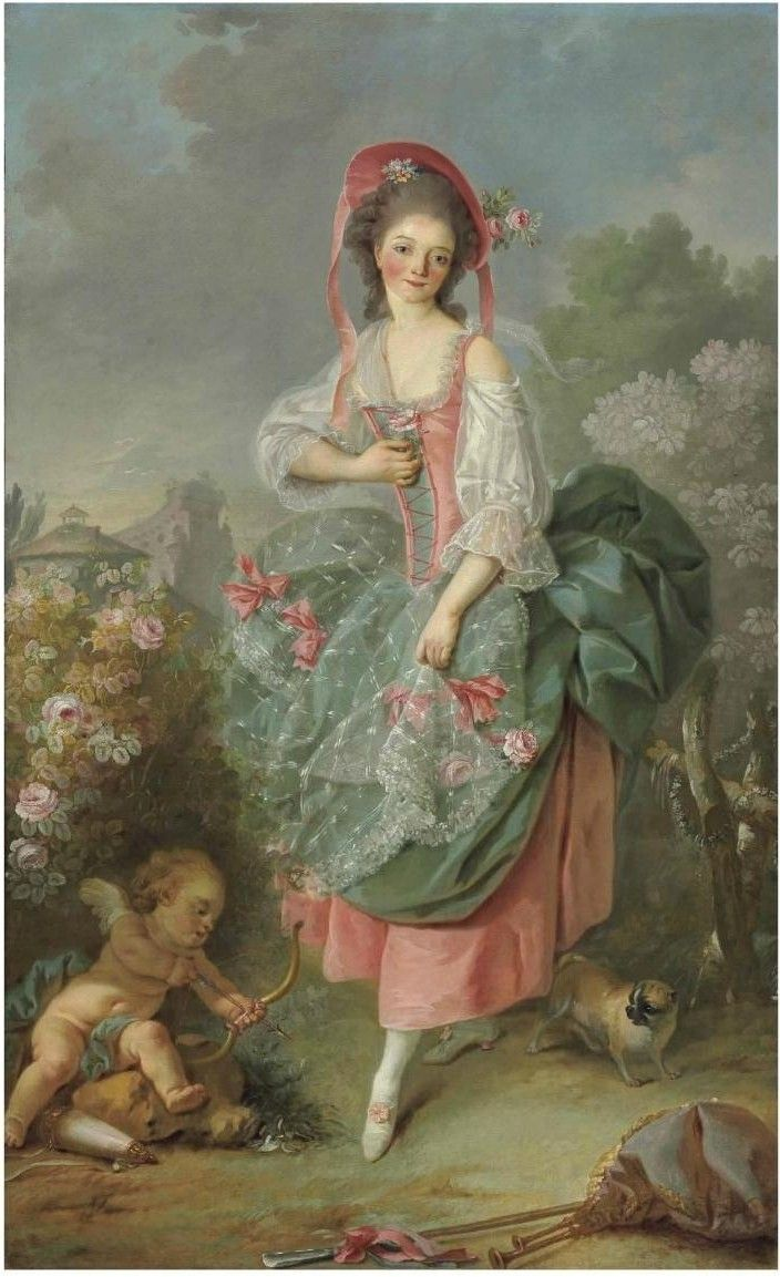 Jacques-Louis David (Paris 1748-1825 Brussels) Portrait of Mademoiselle Guimard as Terpsichore oil on canvas The genesis of this spirited, l...