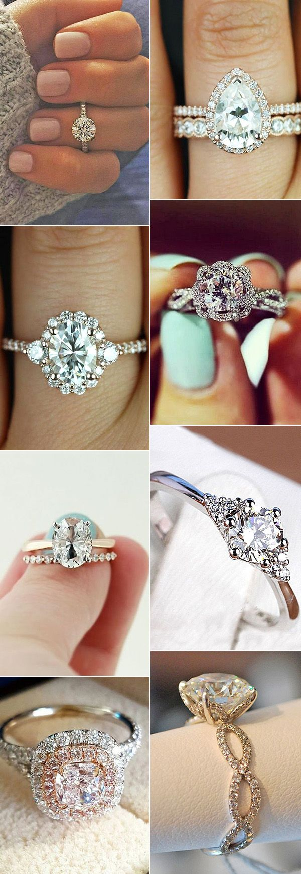 20 Amazing Wedding Engagement Rings For 2017 Trends