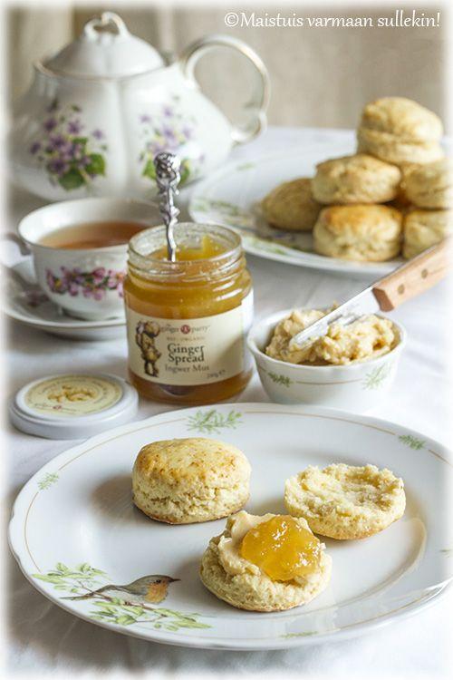 Skonssit hunajavoilla & inkiväärilevitteellä | Maistuis varmaan sullekin! | Bloglovin'