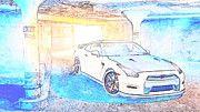 "New artwork for sale! - "" Nissan Gtr R35  by PixBreak Art "" - http://ift.tt/2lVUZIO"