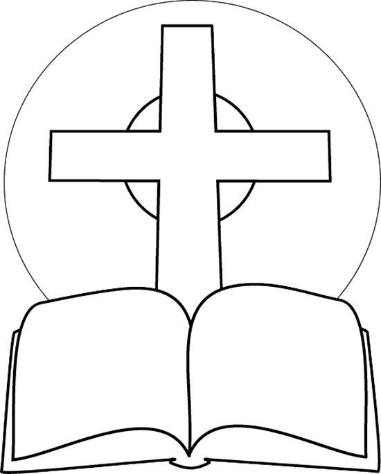 Coloring pages of a bible