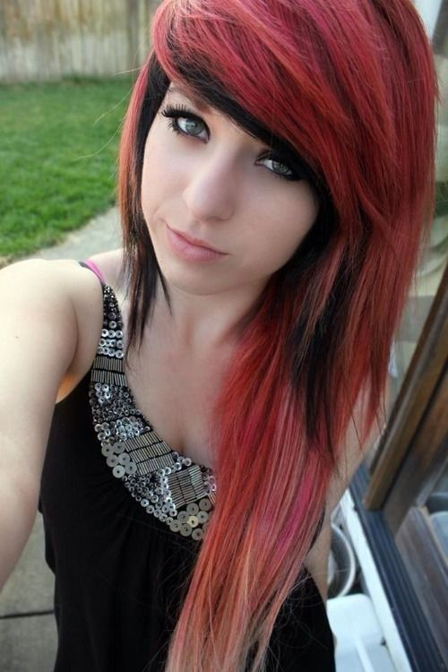 Red hair scene girl naked