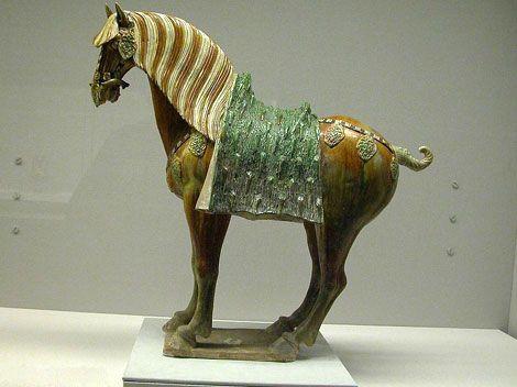 Tri-coloured Tang (Tangsancai) - A Peak in the Development of Chinese Ceramics.