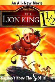 The Lion King 1 1/2 (Video 2004) - IMDb