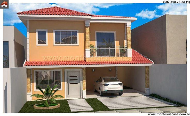 99 best images about sobrados 3 quartos portf lio for Simulador de casas 3d gratis