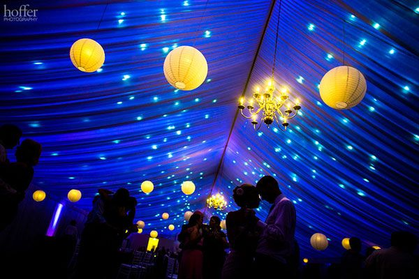 love the starry night sky idea. Really want to do this for my wedding we have a tent outside.... gotta figure out how to pull it off!