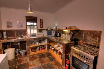 Fully equipped and easy to use kitchen
