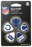 Woodrow - Indianapolis Colts Plastic Guitar Picks (10-Pack) - Blue/White