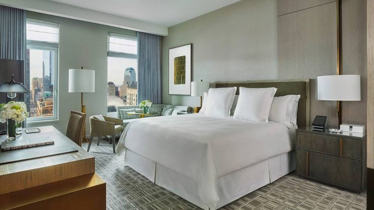 Four Seasons Hotel New York Downtown, a lower Manhattan luxury hotel in South…
