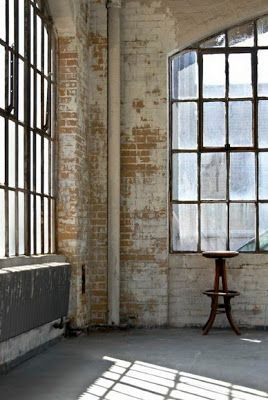 17 best images about loft love on pinterest studio for Distressed brick wall mural