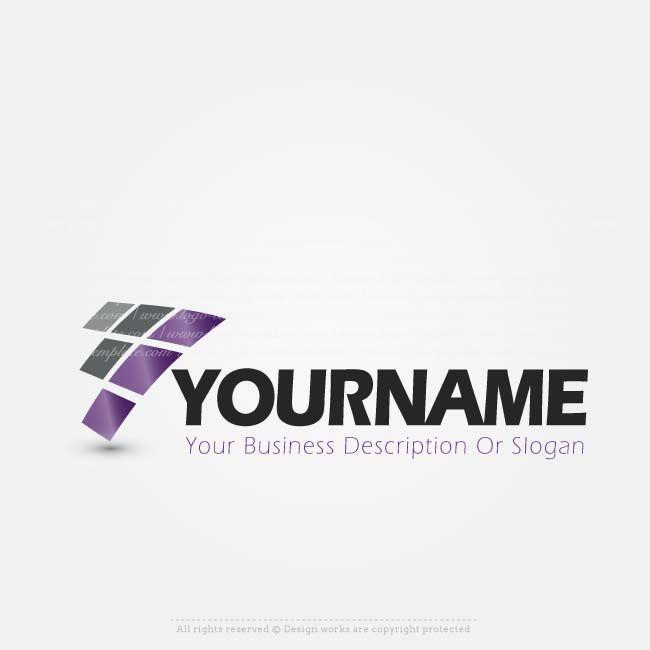 Create a Logo – Abstract company logo templates