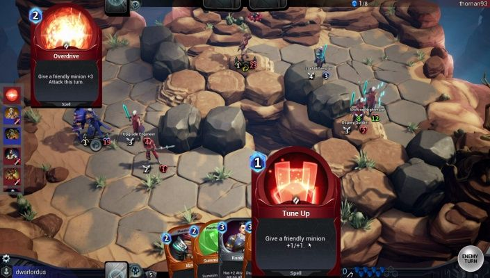 Shardbound is a Free 2 play Turn Based Strategy TBS Multiplayer Game that combines board based tactical gameplay with the depth of content found in collectible card games